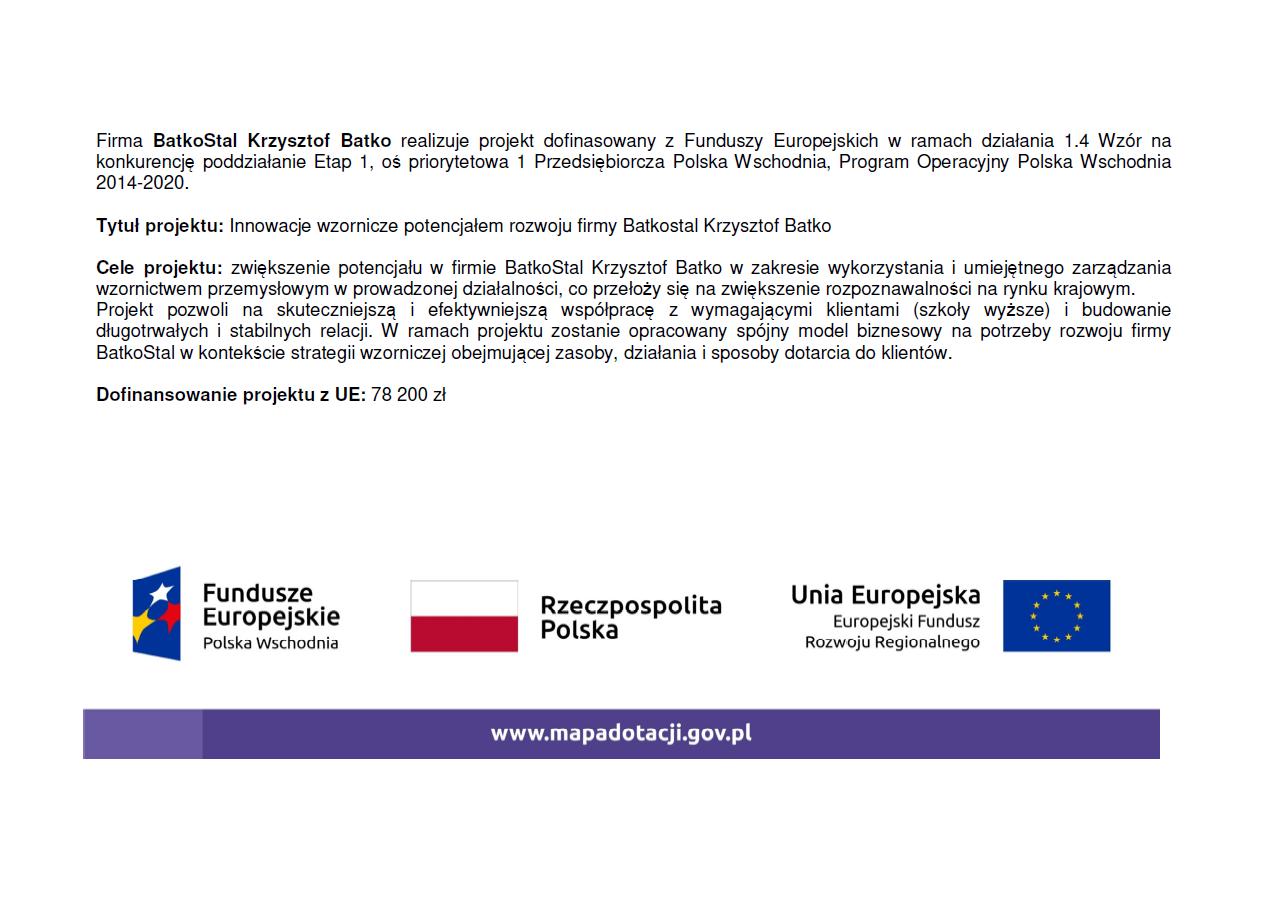 program unijny – batkostal